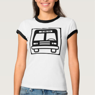 Girls ringer bus icon w/ Don 360 back T-Shirt