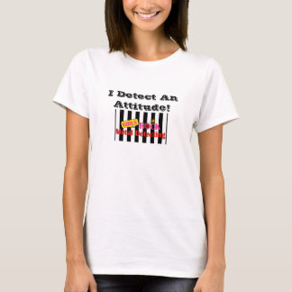 Girls Rock Metal Detecting Attitude T Shirt