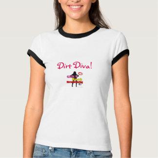 Girls Rock Metal Detecting Dirt Diva T T-Shirt