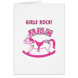 Girls Rock Note Card