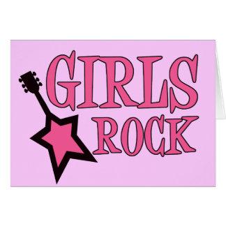 Girls Rock! Note Card