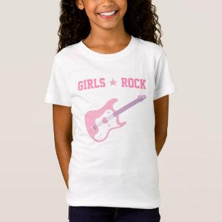 Girls Rock Star Pink Guitar Tee