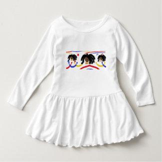 Girls Ruffled Dress