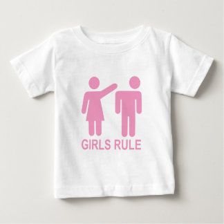 Girls Rule Baby T-Shirt