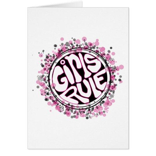 Girls Rule Card