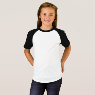 Girls' Short Sleeve Raglan T-Shirt
