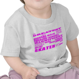 Girls Skaters Pink Greatest Skater Tee Shirts