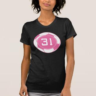 Girls Soccer Player Number 31 Gift T-Shirt