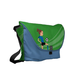 Girl's Soccer Practice Bag Courier Bags