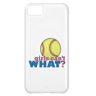 Girls Softball Cover For iPhone 5C