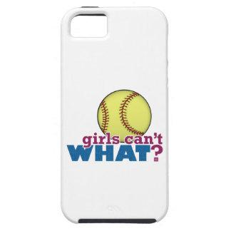 Girls Softball iPhone 5 Covers