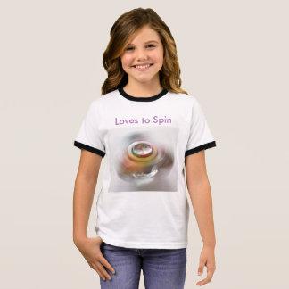 Girls Spinner T-Shirt