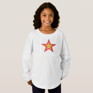 Girls' Spirit Jersey Shirt art by Jennifer Shao