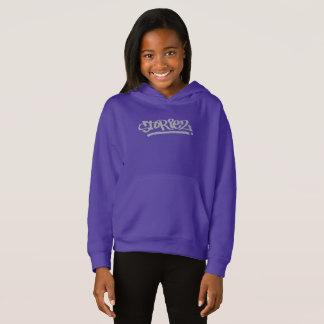Girls Storiez Hoodie (Grey Logo)