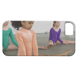 Girls stretching in gymnastics practice barely there iPhone 5 case