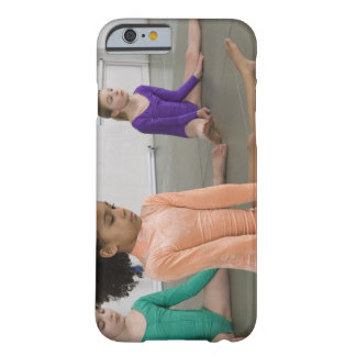 Girls stretching in gymnastics practice barely there iPhone 6 case