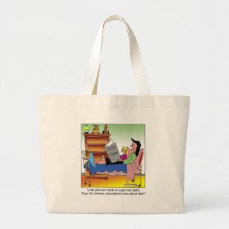 Girls, Sugar, Spice & Diabetes Tote Bag