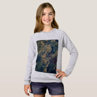 Girls sweater/t shirt blue sky art by OC