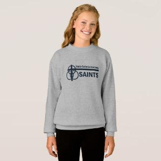 Girl's Sweatshirt: TCA Saints Sweatshirt