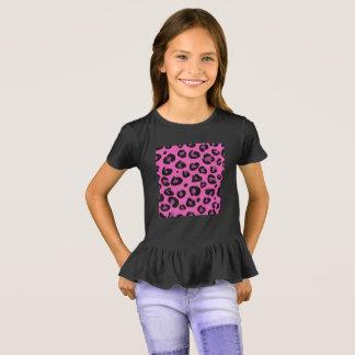 Girls t-shirt : Jaguar pattern