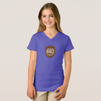 Girls t-shirt - Texas BBQ Posse Logo