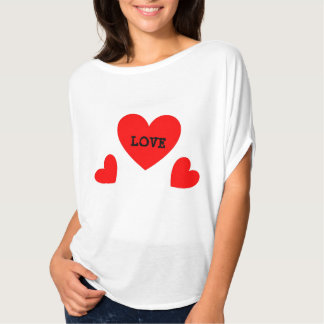 Girls' T-Shirt (Triple Heart)