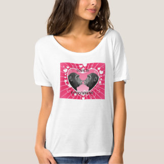 Girl's' T-Shirts (Love Is Everywhere)