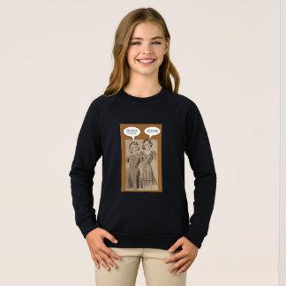 Girls taking on Trump Sweatshirt