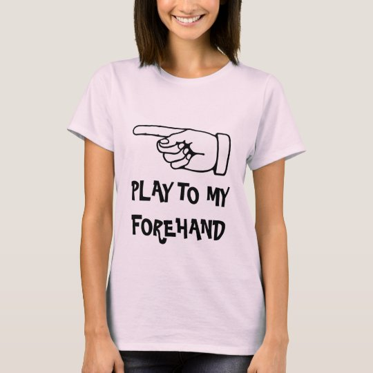 Girl's tennis shirt with funny quote saying quote