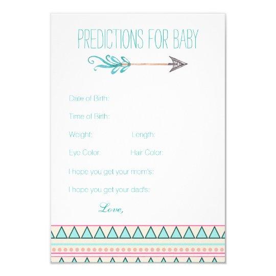 Girls Tribal Arrow Predictions Advice Cards