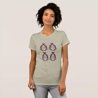 Girls tshirt with Mandalas