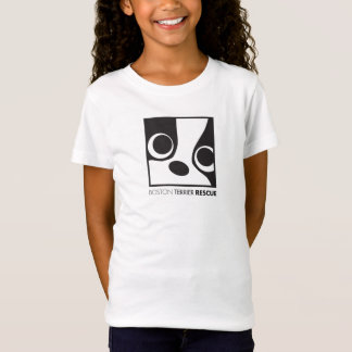 Girls two sided fitted t-shirt