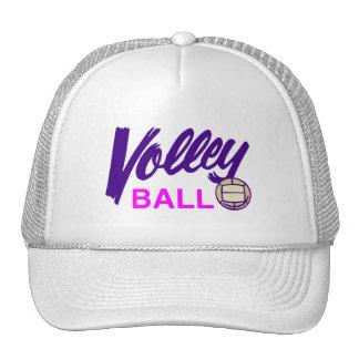 Girls Volleyball Mesh Hats