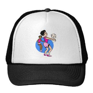 Girls Volleyball Trucker Hats
