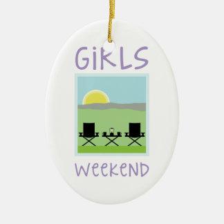 Girls Weekend Christmas Ornament