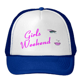 Girls Weekend (Face) Cap