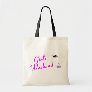 Girls Weekend (Face) Budget Tote Bag