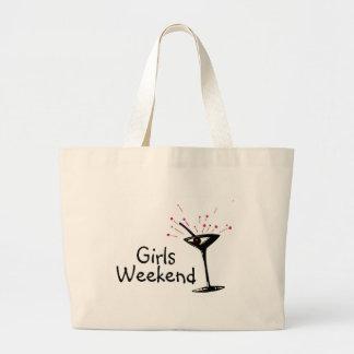 Girls Weekend Jumbo Tote Bag