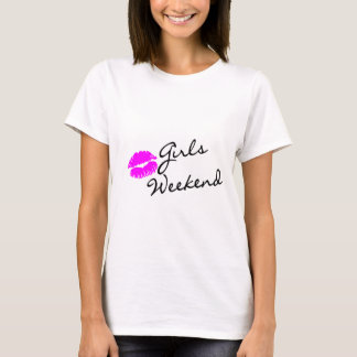 Girls Weekend (Kiss Blk) T-Shirt