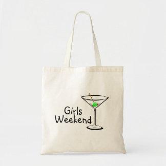Girls Weekend (Martini 2) Budget Tote Bag