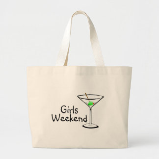 Girls Weekend (Martini 2) Jumbo Tote Bag