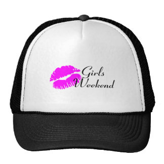 Girls Weekend (Pink Lips) Mesh Hat