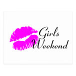 Girls Weekend (Pink Lips) Post Cards
