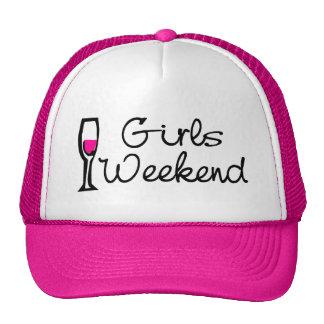 Girls Weekend Wine Cap