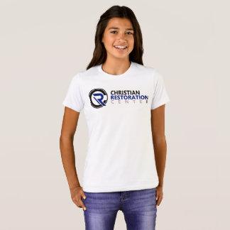 Girls White CRC T Shirt