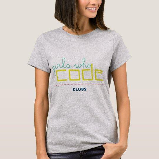 Girls Who Code Clubs T-Shirt
