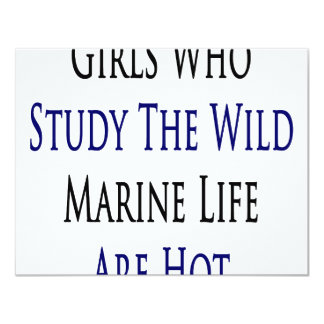 Girls Who Study The Wild Marine Life Are Hot Personalized Announcements