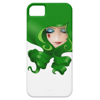 Girls with curls (LOVE) green Barely There iPhone 5 Case