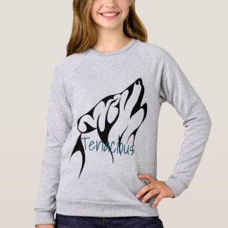 Girls Wolf Tenacious SweatShirt