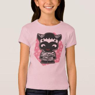 Girl's zebra tshirt
